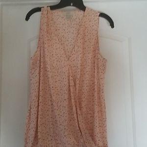 Womans blouse, peach,  L